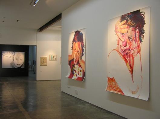 Exposición en la Galería Ad-Hoc de Ángeles Agrela (2007)
